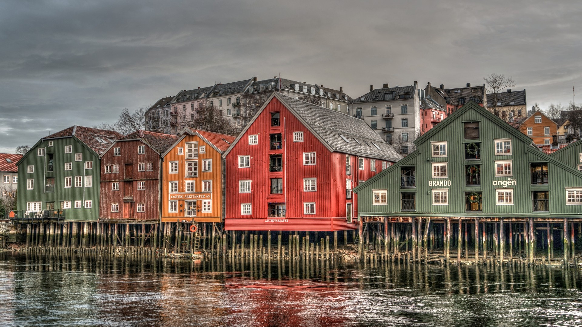 Visiting Trondheim in summer