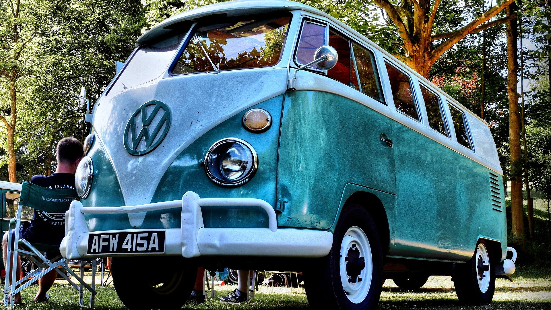 Touring in a VW camper
