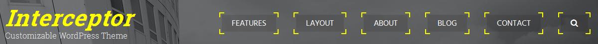 Inline menu with targeted menu