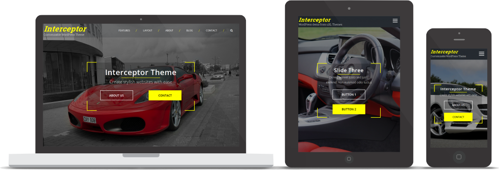 Interceptor responsive design