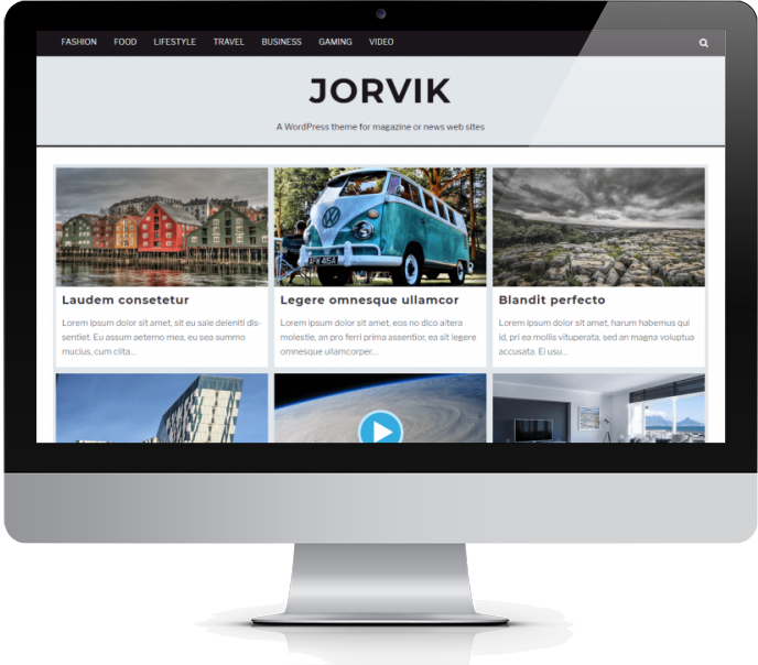 Jorvik WordPress Theme