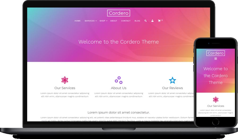 Cordero WordPress Theme